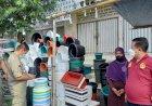 Satpol PP Kota Semarang Tertibkan PKL Sekitar Pasar Johar
